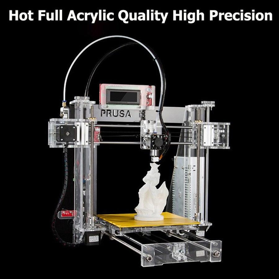Prusa i3, đối thủ của dòng máy in 3D mini giá rẻ