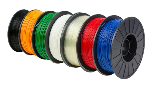 Đây là các cuộn dây nhựa in 3D FDM