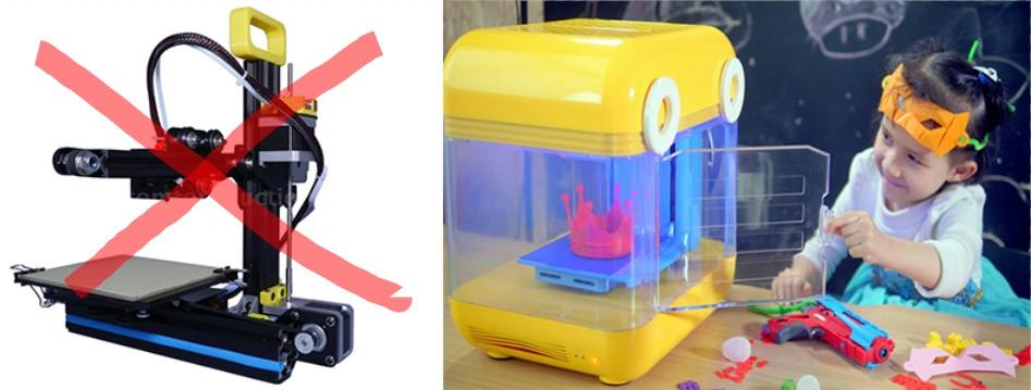 máy in 3D mini cho trường học